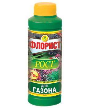"""Сила Жизни"""" Флорист """"Рост для газонов """" 0,12 л.(1/8)"""